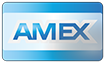 Forma de pagamento com American Express